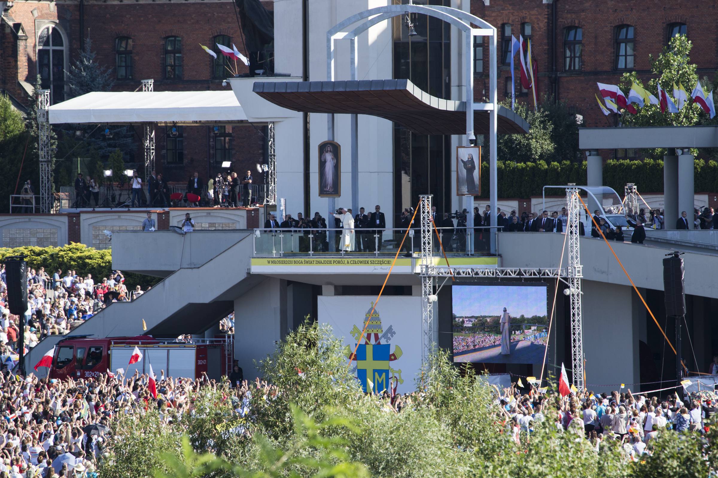 Sanktuarium w Łagiewnikach, World Youth Day 2016 in Krakow