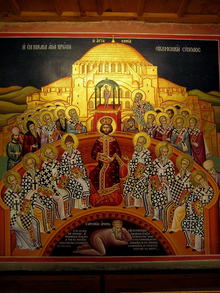 Ariusz na Soborze w Nicei