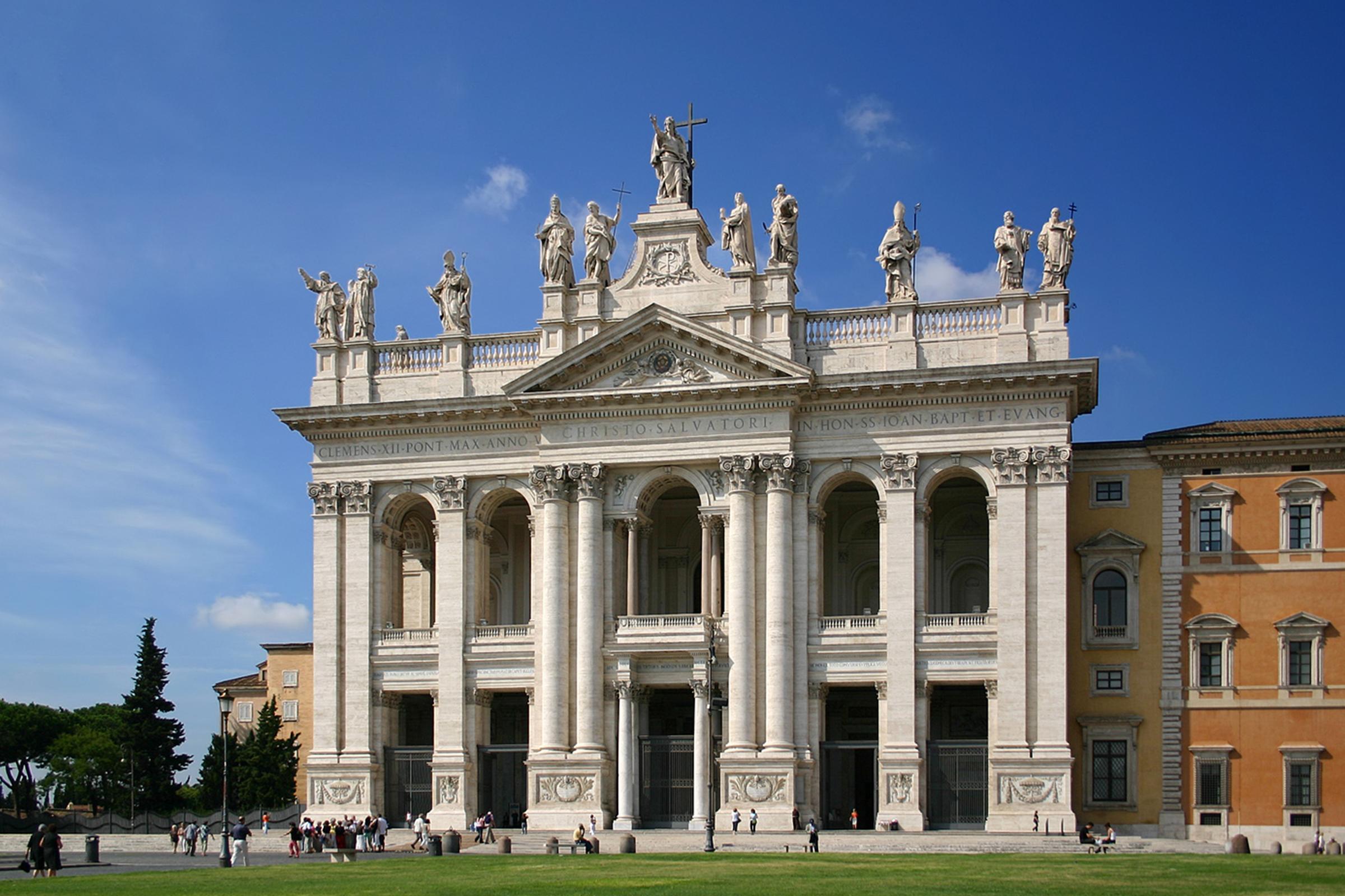 Bazylika Świętego Jana na Lateranie, fot. Pedro Reis/Wikipedia
