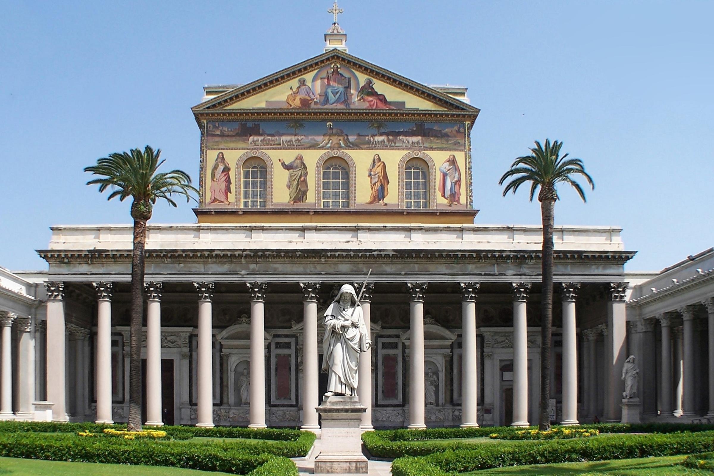 Bazylika Świętego Pawła za murami, fot. Berthold Werner/Wikipedia