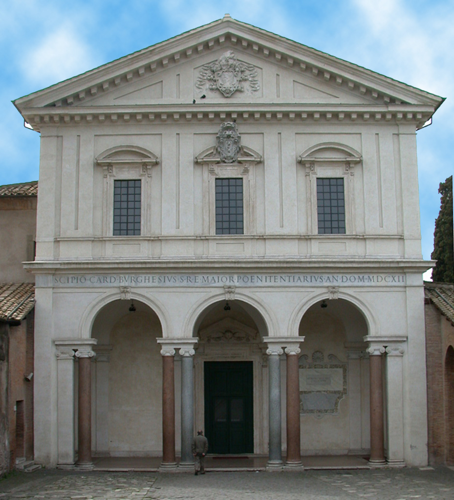 Bazylika Świętego Sebastiana za murami, fot. Flaminio Ponzio/Wikipedia