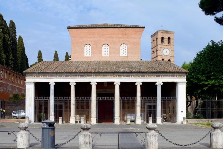 Bazylika Świętego Wawrzyńca za murami, fot. Livioandronico2013/Wikipedia