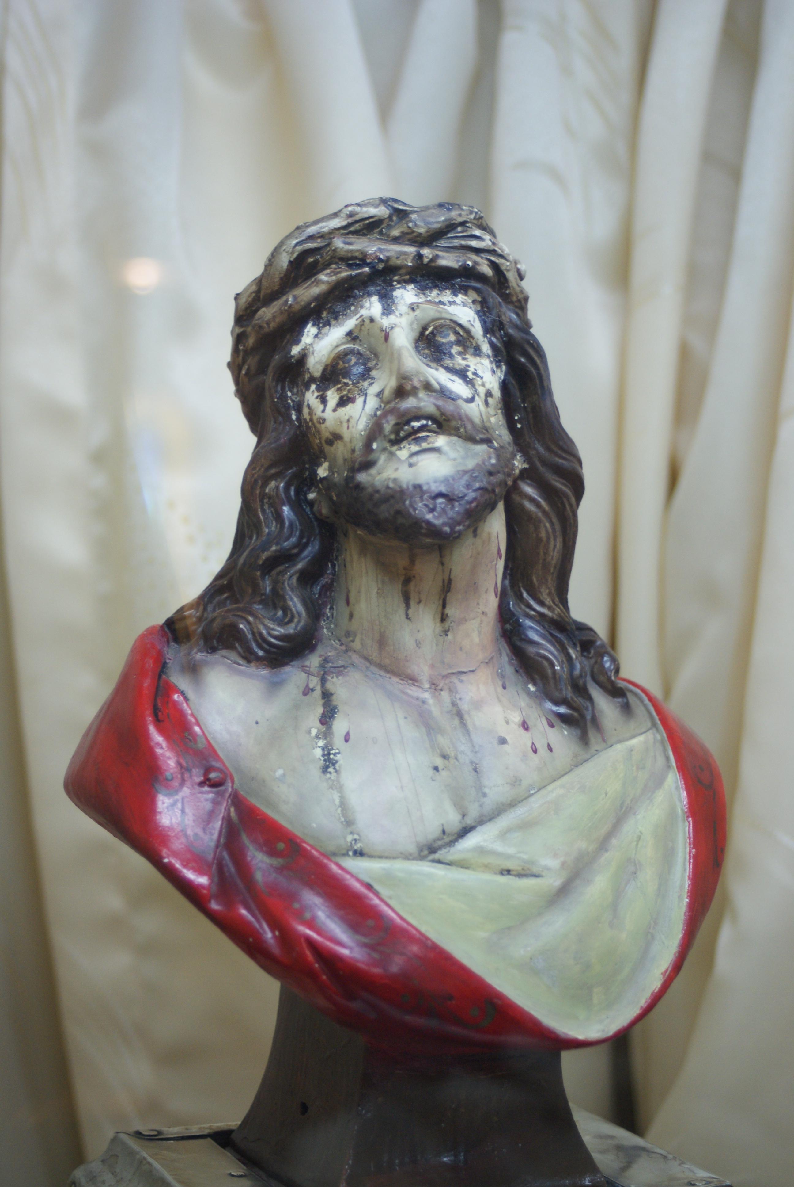 Płaczący Chrystus z Cochabamby / Fot. ks. dr Wojciech Błaszczyk