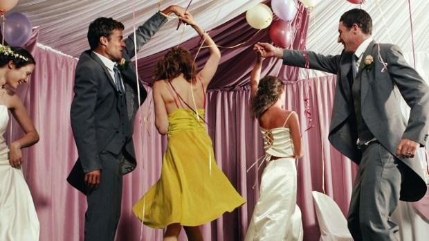 Tańczący na weselu