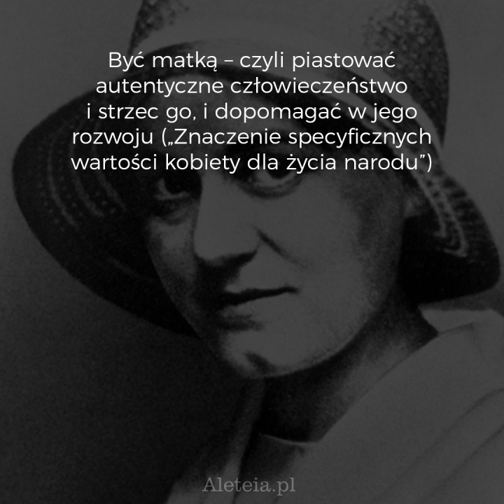 CYTATY EDYTA STEIN