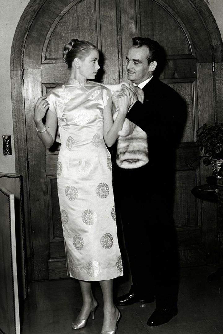 Grace Kelly z ksieciem Monako