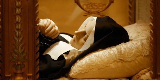 Ciało św. Bernadetty