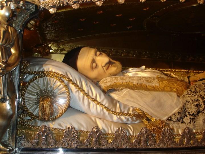 Ciało św. Wincentego à Paulo