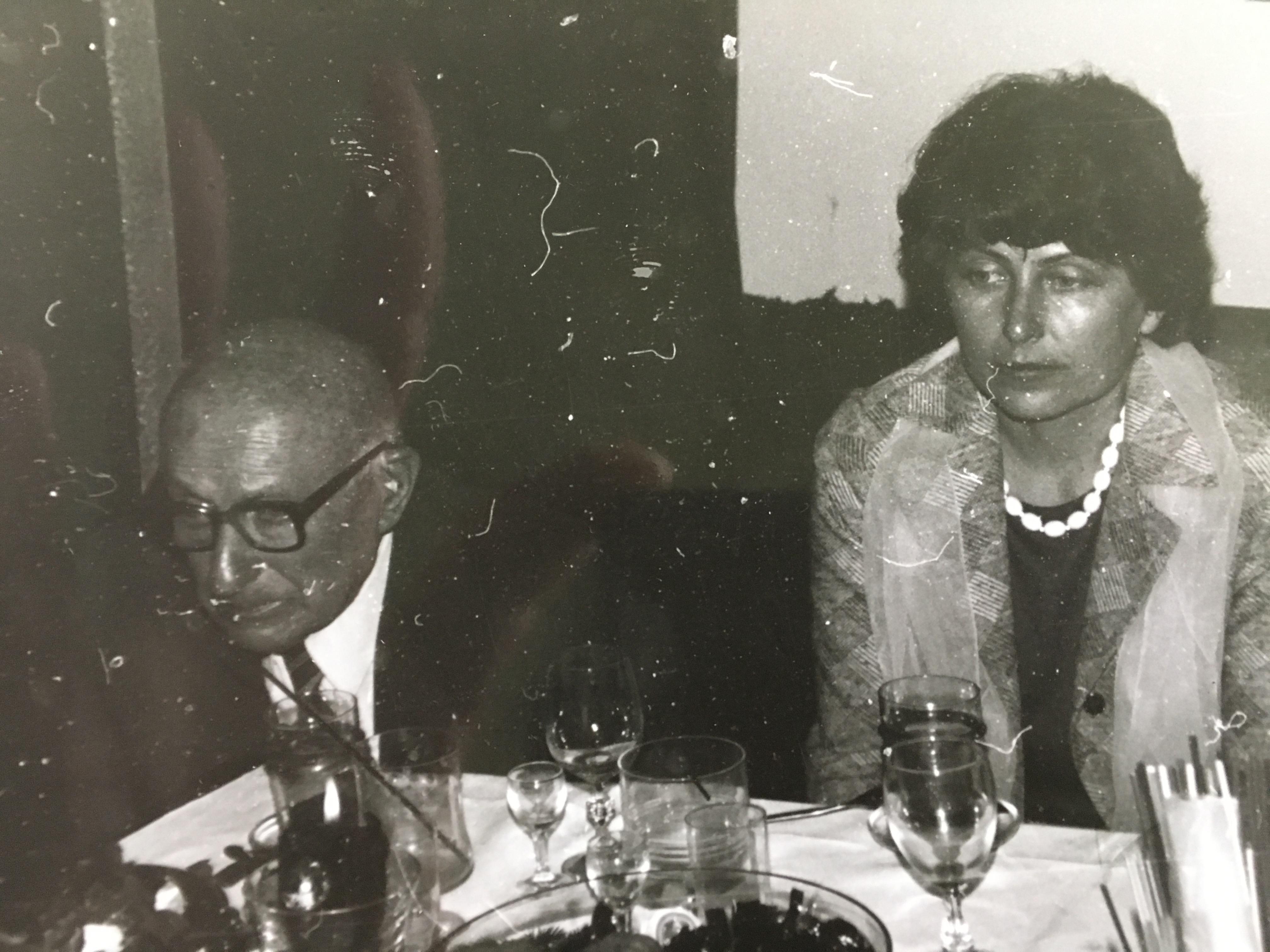 Dziadek i mama Szymona Majewskiego