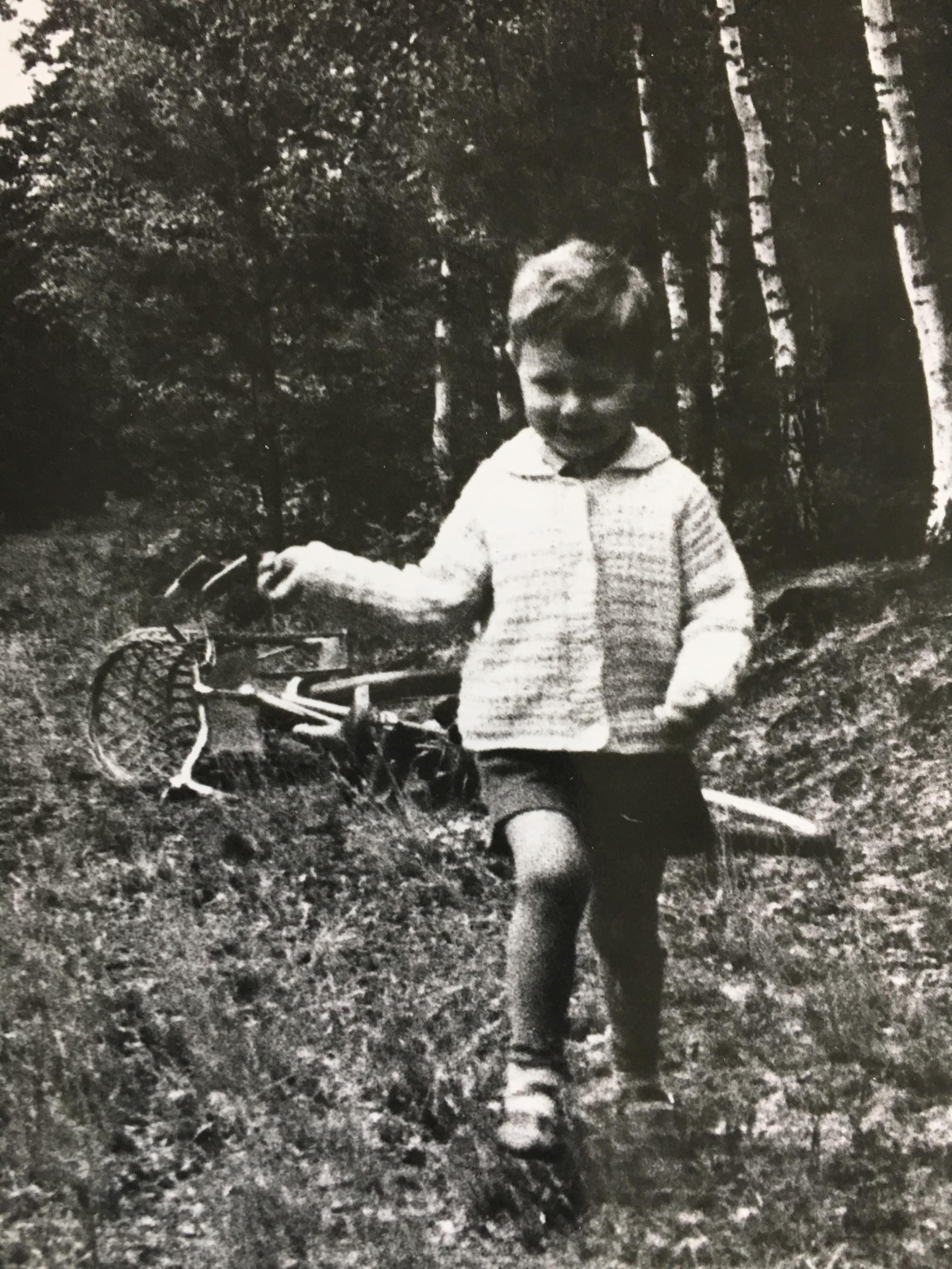 Szymon Majewski jako dziecko