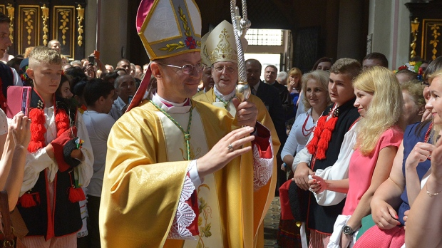 Sakra biskupa Edwarda Kawy