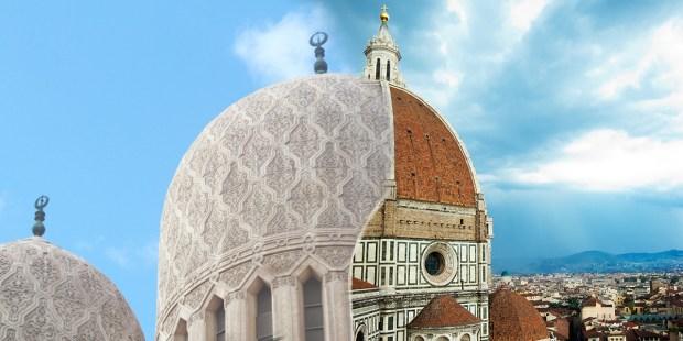 Połączenie meczetu i kościoła