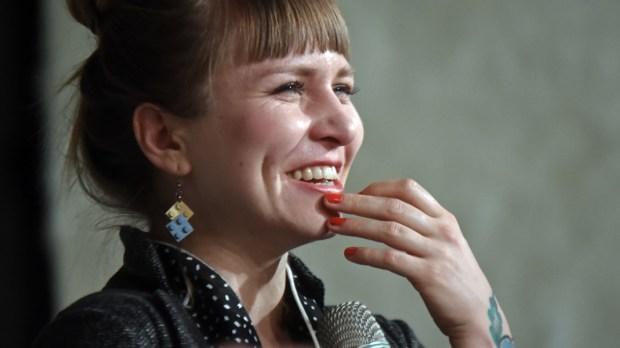 Dorota Masłowska na spotkaniu z czytelnikami