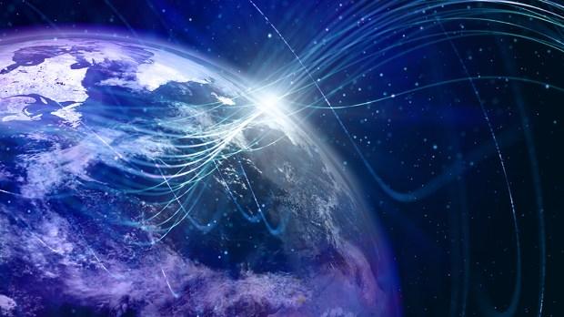 Kula ziemska i promienie w kosmosie