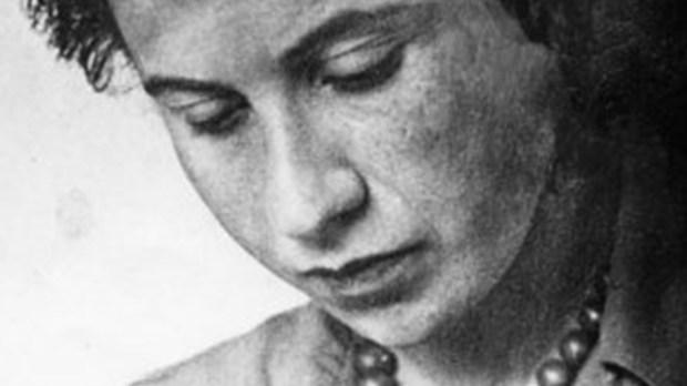 Portret Etty Hillesum