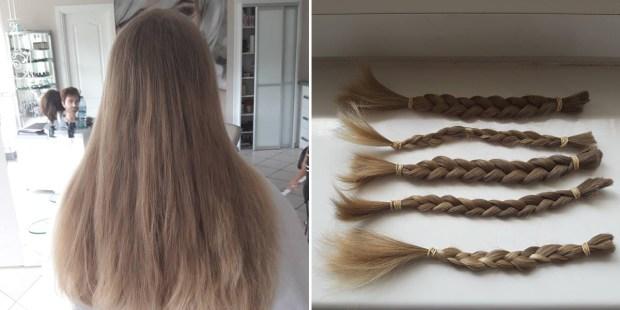 Dziewczynka, która obcięła włosy