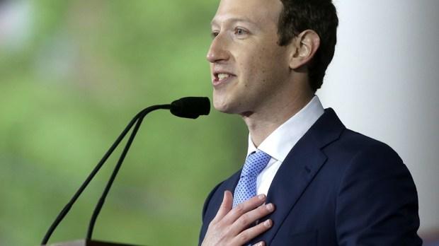 Mark Zuckerberg na Harvardzie