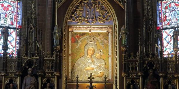 Obraz Matki Bożej w Gietrzwałdzie