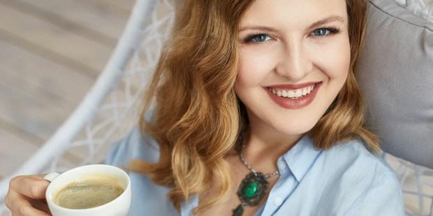 Uśmiechnięta Matylda Kozakiewicz