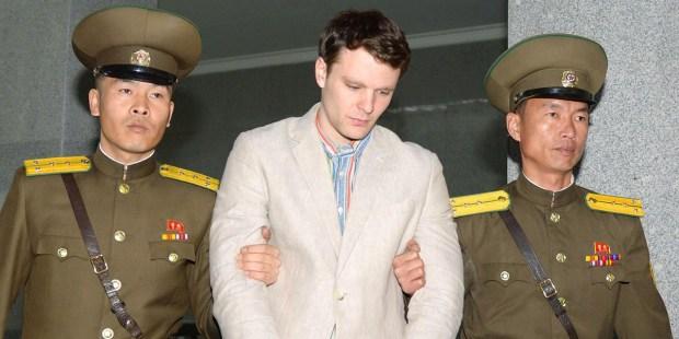 Student Otto Warmbier przetrzymywany w Korei Północnej
