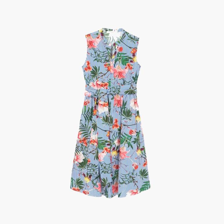 Sukienka letnia w kaiwty firmy Mango