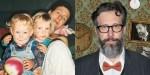Szymon Majewski z dziećmi