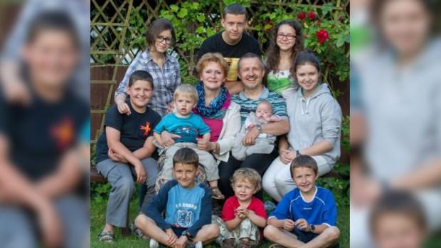 Wardakowie z dziećmi