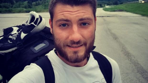 Bartek Krakowiak w drodze do Medjugorje