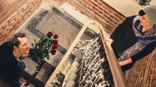 Małżeństwo na schodach