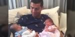 Cristiano Ronaldo ze swoimi dziećmi