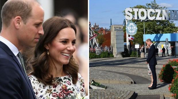 Wizyta Księcia Williama i Księżny Kate w Gdansku