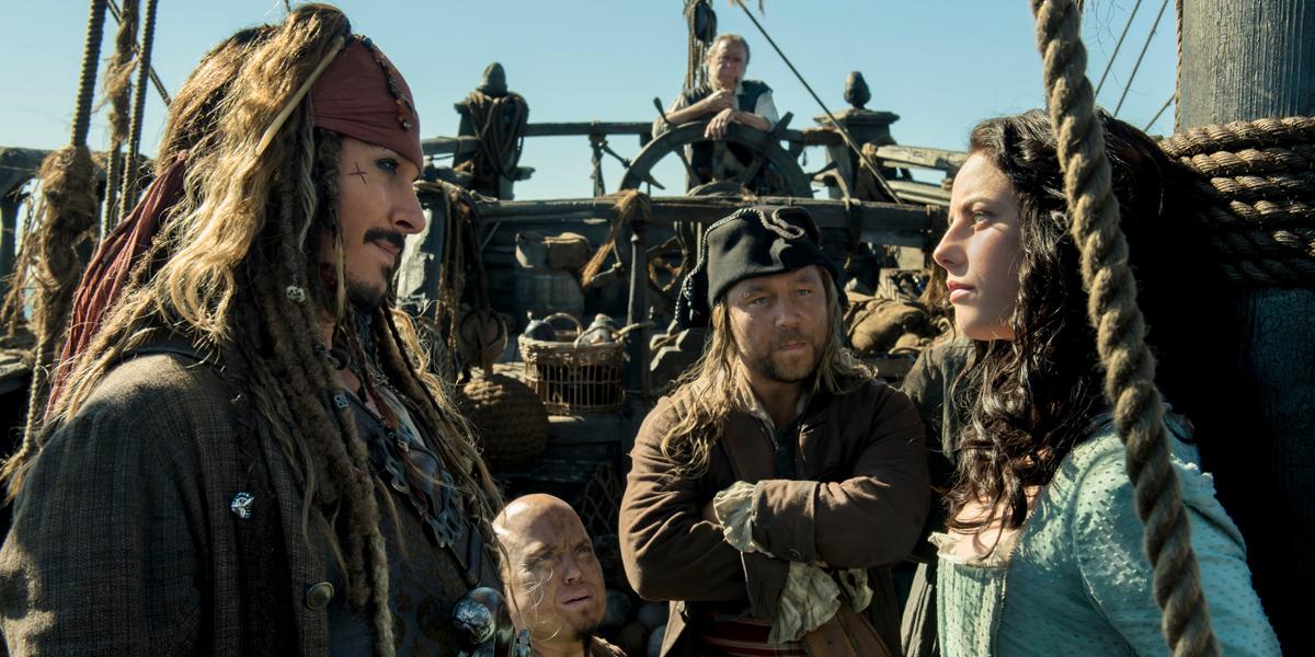 """Scena z filmu """"Piraci z Karaibów: Zemsta Salazara"""""""