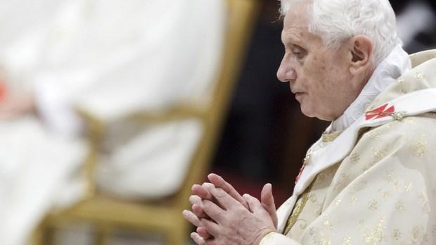 Papież emeryt Benedykt XVI