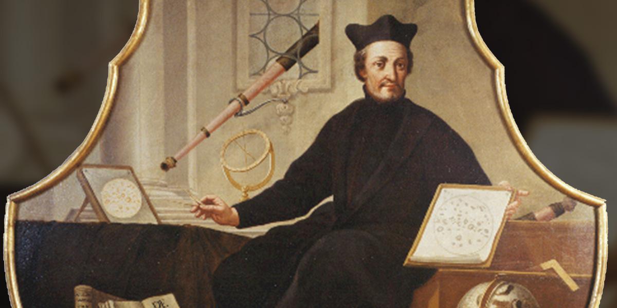 Portret księdza Christopha Scheinera