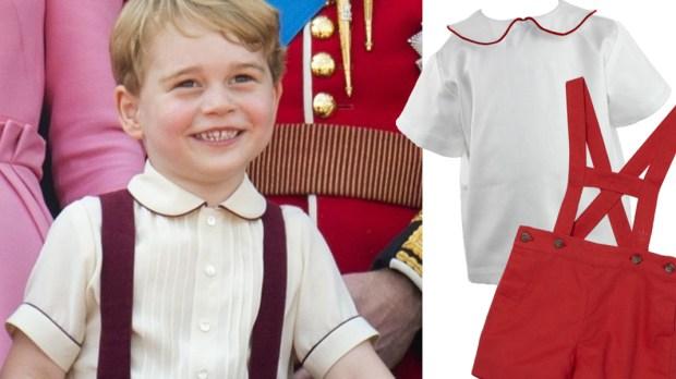 Ubranka w stylu Księcia George'a