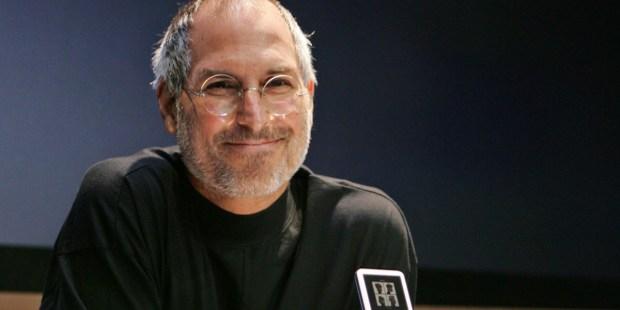 Steve Jobs podczas swojej prezentacji