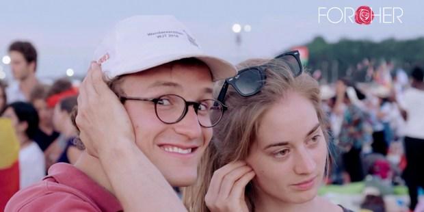 Kadr z filmu ze światowych dni młodzieży