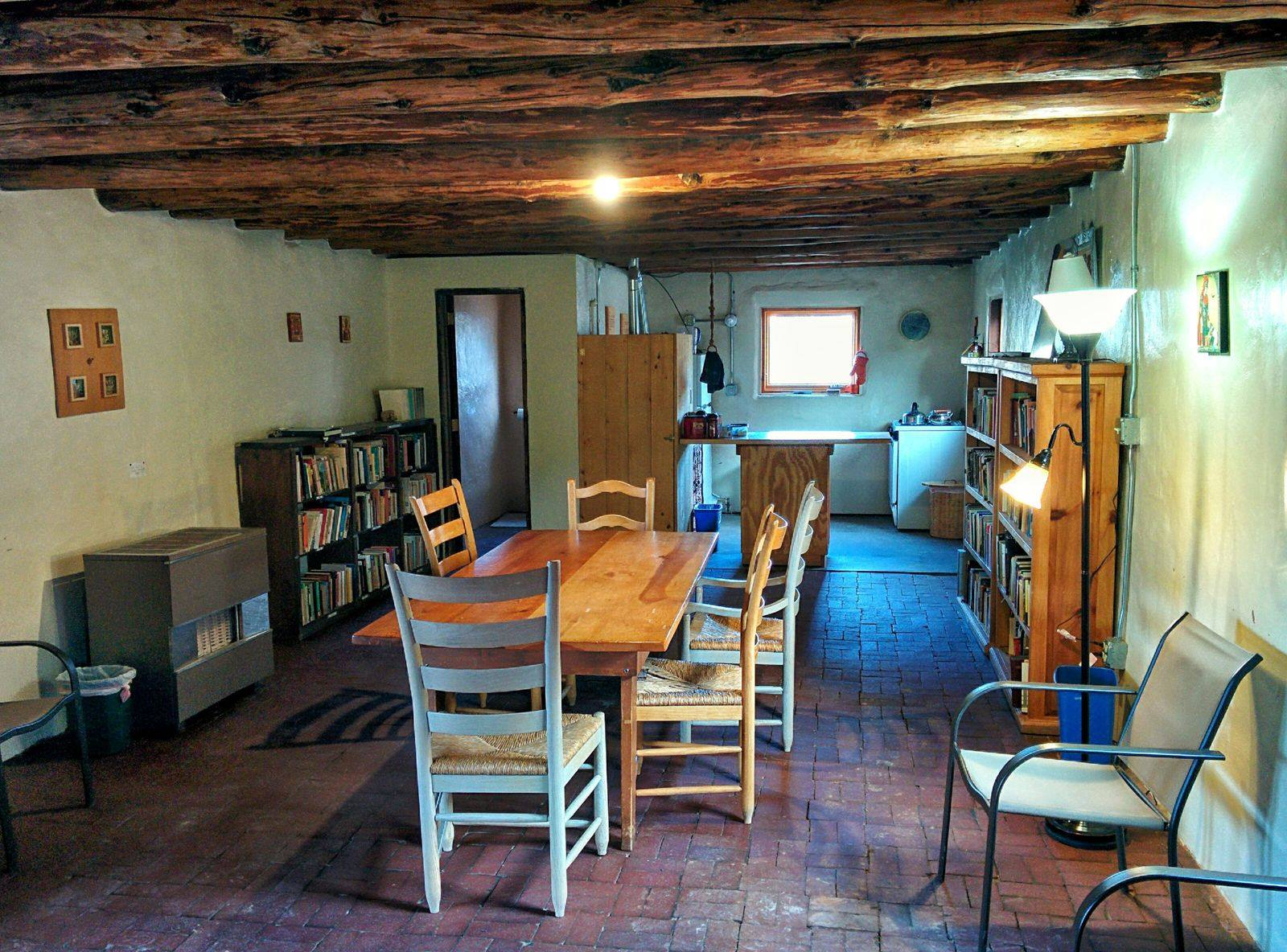 MONASTERY OF CHRIST IN THE DESERT,GUEST HOUSE