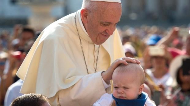 POPE FRANCIS,BOY