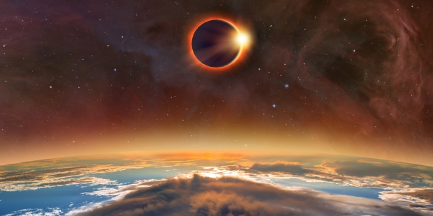 SOLAR ECLIPSE,NASA