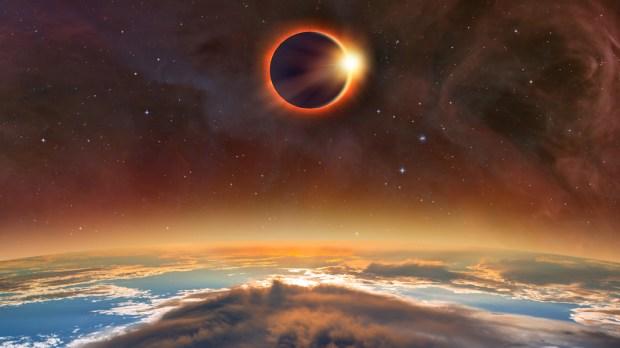 SOLAR ECLIPSE,NASA