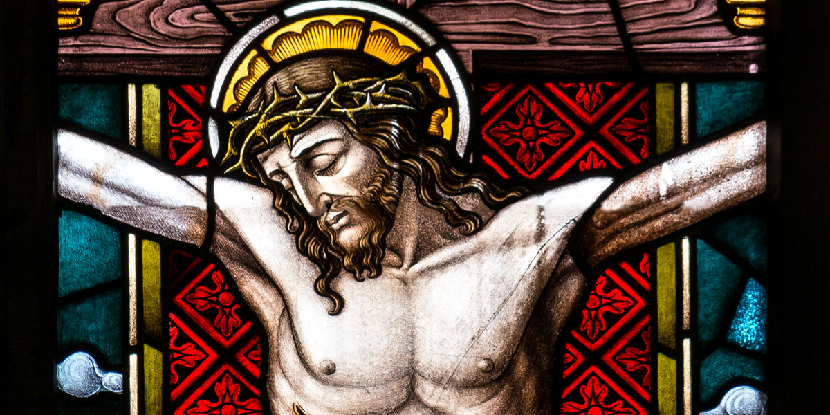 JEZUS NA KRZYŻU
