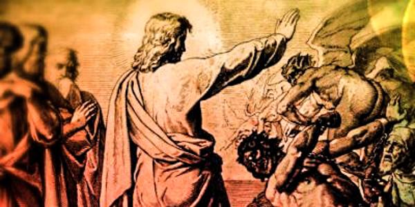 JESUS OVER EVIL