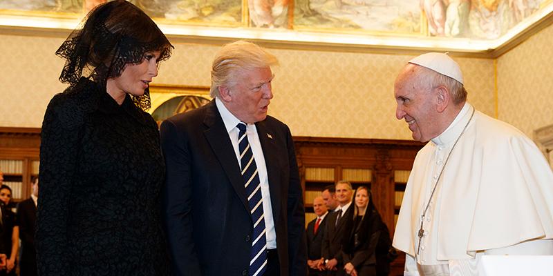 POPE FRANCIS,TRUMP