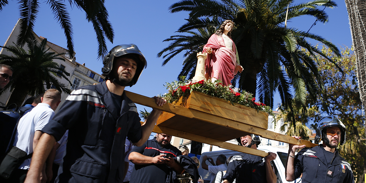 FIREFIGHTERS,VIRGIN MARY