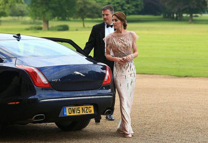 Księżna Kate Middleton w sukni sprzed lat na gali dobroczynnej