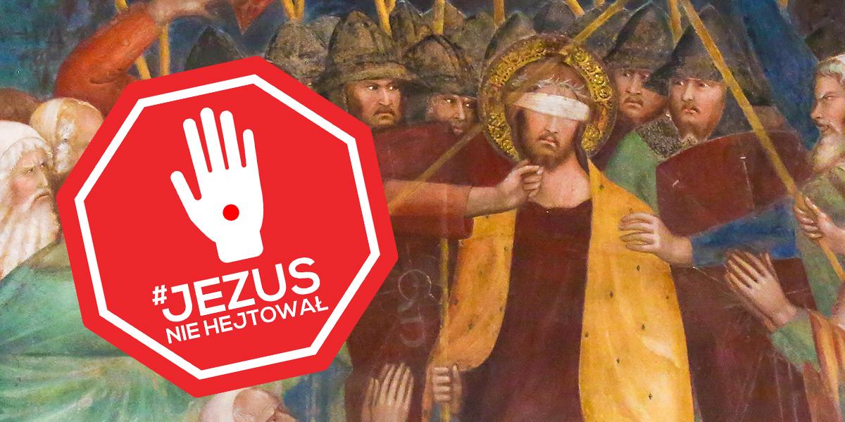JEZUS ZNIEWAŻONY