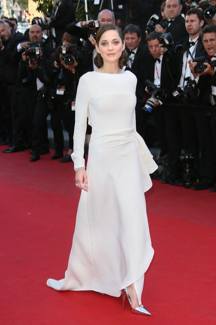 Marion Cotillard w Cannes na czerwonym dywanie