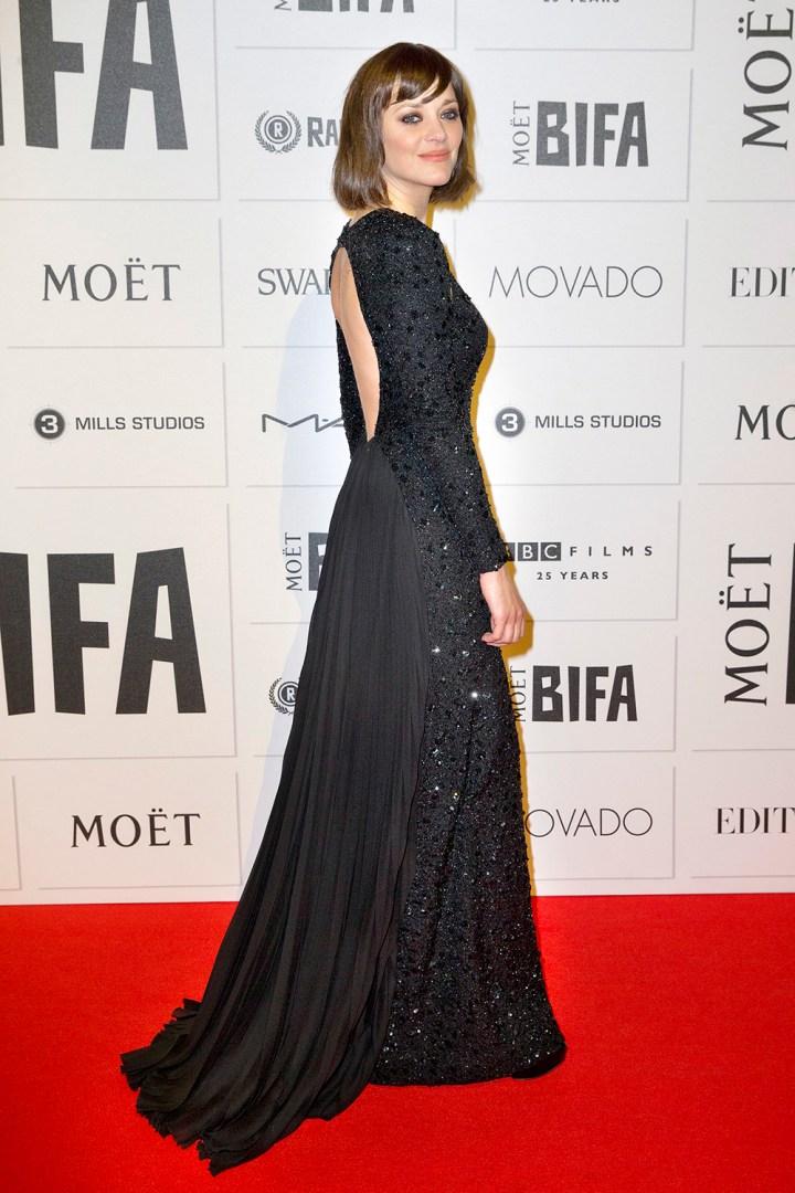 Cotillard na Film Awards w Londynie