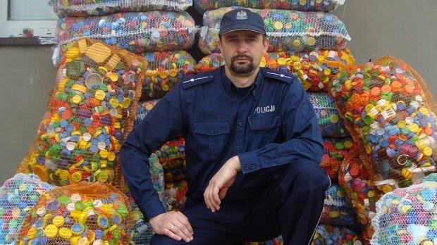 POLICJANT ADAM TRZONKOWSKI